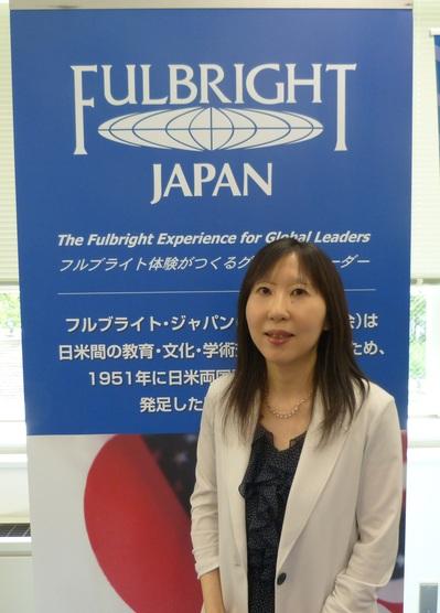 日米教育委員会の笹田千鶴さん.JPG