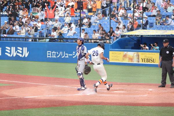 7回、三塁打を打たれて逆転される瞬間.JPG