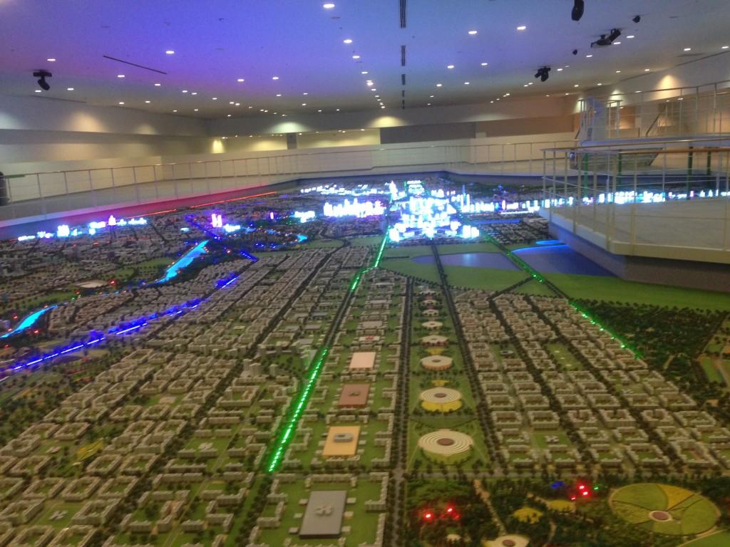 都市計画展示