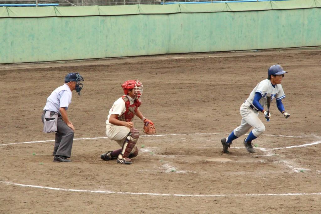 軟式野球写真