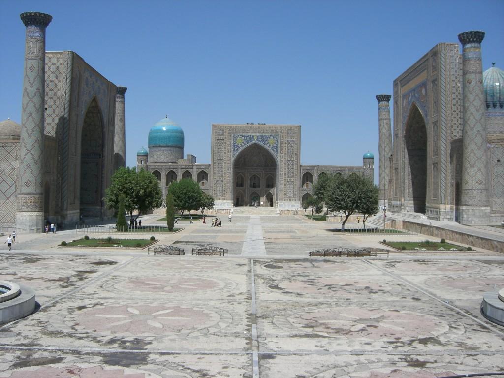 ウズベキスタン、サマルカンド(2012年夏)