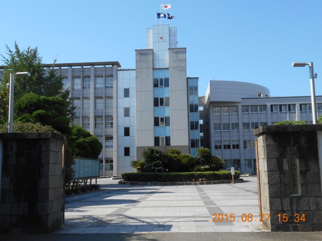 高校訪問修猷館高校写真