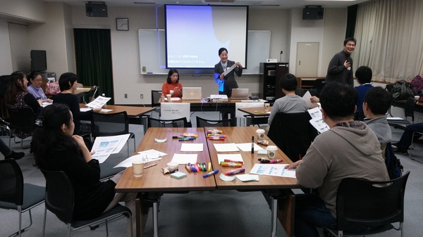 2月25日に、文京区民を対象に行われた「選挙に行こうカフェ」