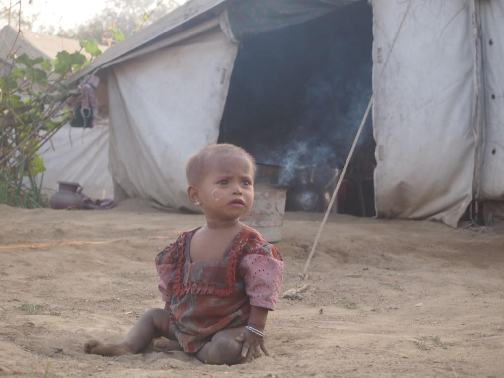 ミャンマーのロヒンギャ避難民キャンプにて(2012年 撮影:須田英太郎)