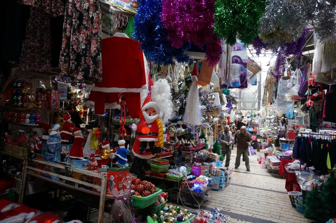 クリスマス用品店