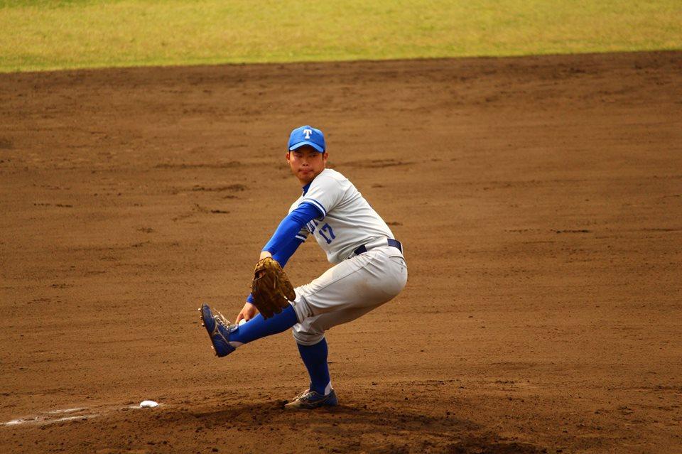 先発の相良投手(写真は軟式野球部提供)