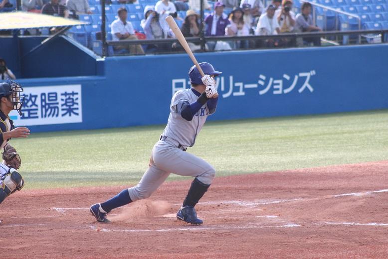 宮台の適時二塁打