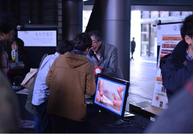 昨年の展示会の様子(TEDxUTokyo実行委員会提供)