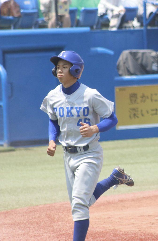 打撃だけでなく走塁も光った桐生選手