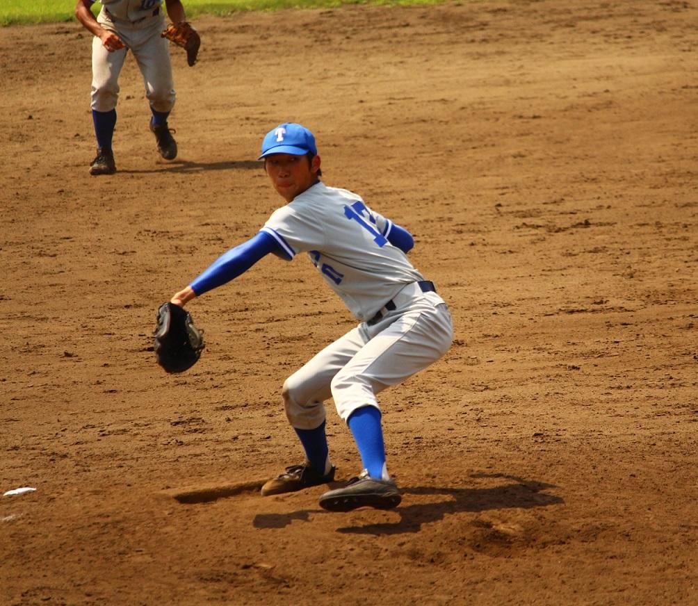 リーグ戦初先発となった吉川投手(写真は軟式野球部提供)