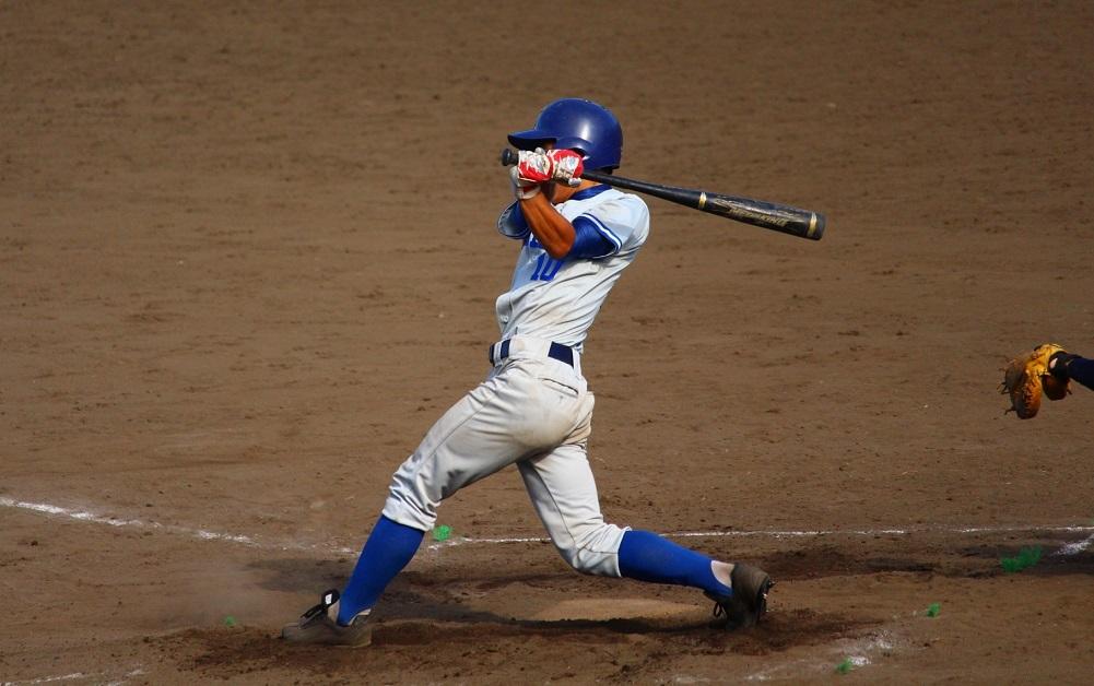 東大この試合初の安打を放った平野選手(写真は軟式野球部提供)