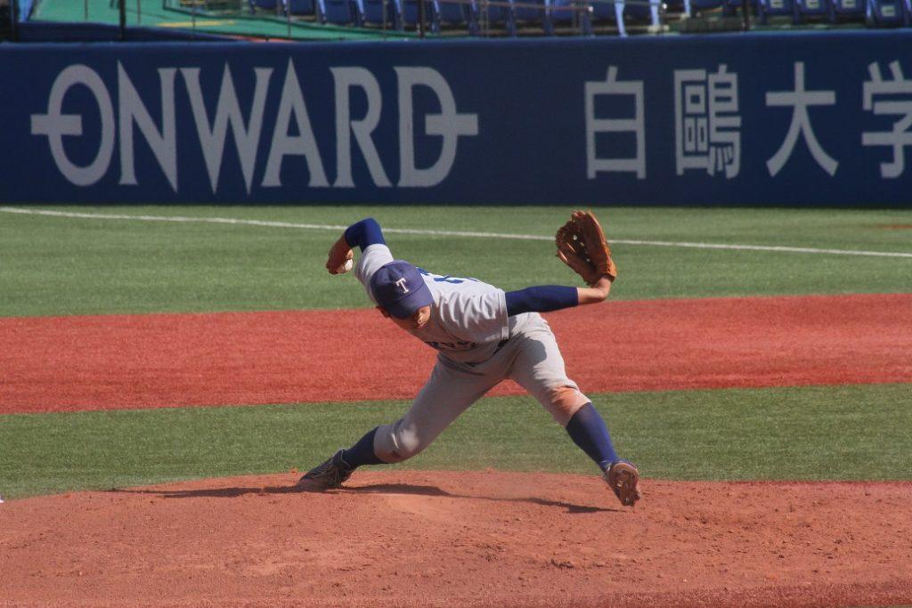 シーズンを通し防御率3・14と安定した投球を見せた三木投手(撮影・関根隆朗)