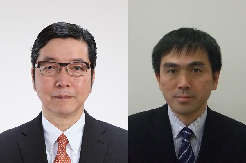幾原教授(左)と古澤教授 ※都合により水野教授の写真は掲載なし