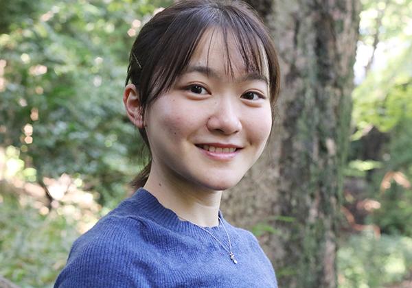 Campus Girl 江﨑和貴子(えざき・わきこ)さん(理Ⅱ・2年)