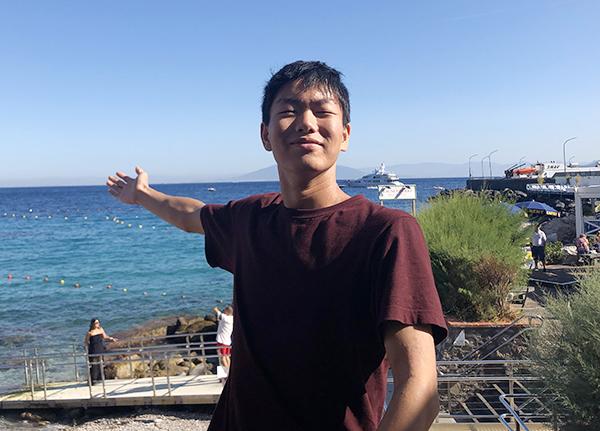 【キャンパスのひと】大塚遥輝(おおつか・はるき)さん(文Ⅰ・2年)